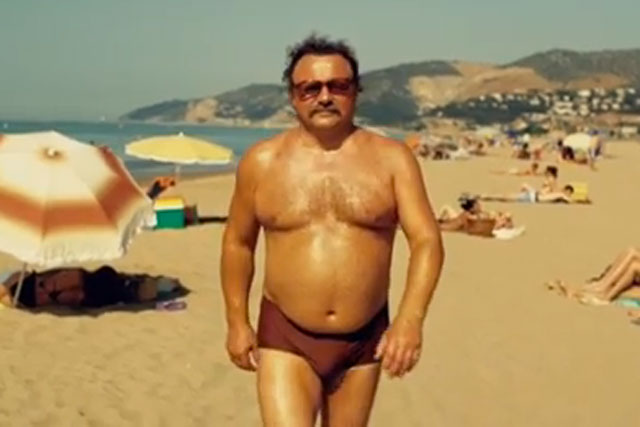 Southern Comfort: Wieden & Kennedy's first ad in 2012 showed a man in speedos on the beach