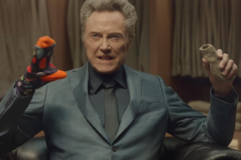 Christopher Walken in Kia's Super Bowl ad