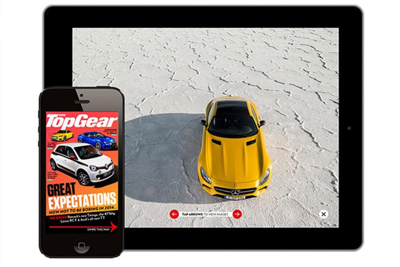 BBC Top Gear's digital edition was the biggest in the first half of 2015