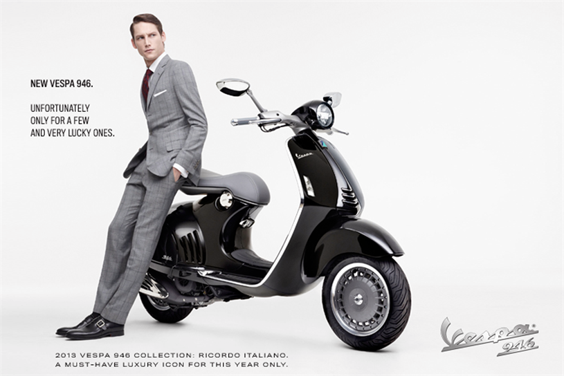 Vespa: appointed BBH