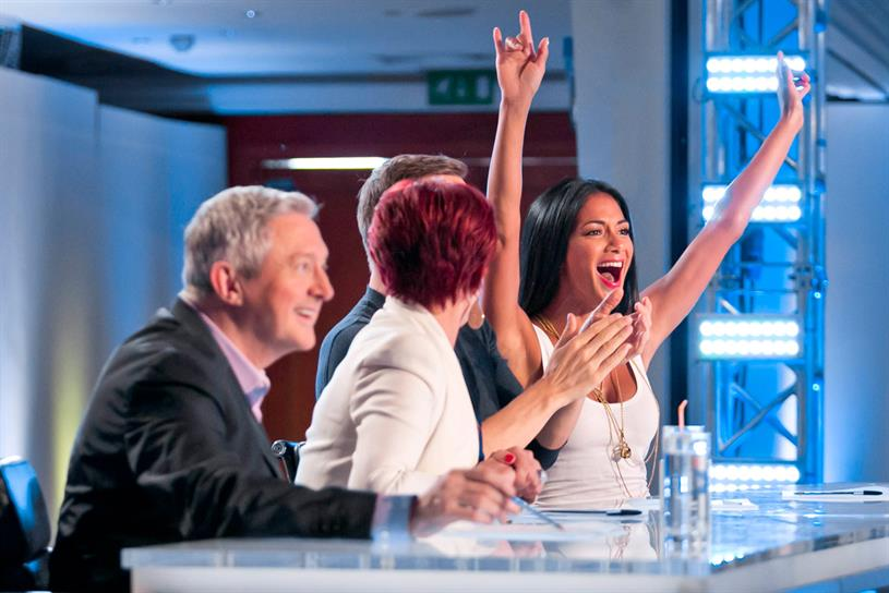The X Factor: ITV expects the show to help bolster viewing figures in the second half of the year. Credit: ITV Pictures
