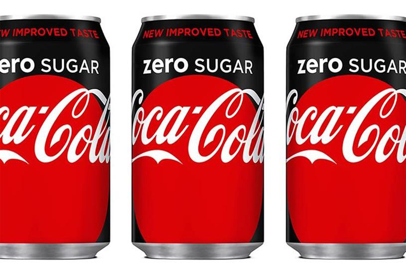Goodbye and Hello: Coke Zero Out, Coca-Cola Zero Sugar In