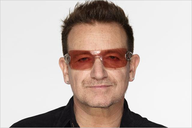 Bono: U2 front man receives first Cannes LionHeart award