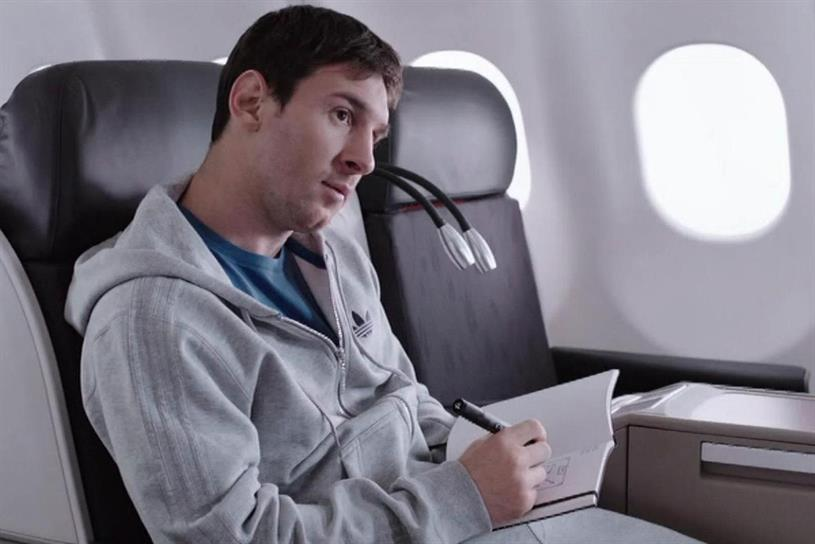 Turkish Airlines: Lionel Messi vs. Kobe Bryant ad from incumbent