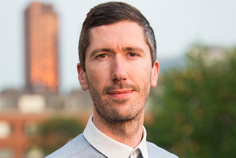 Charlie Carpenter: the managing director at Creativebrief