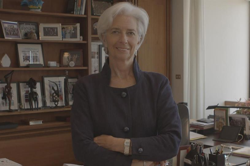 Christine Lagarde: IMF head appears in the documentary