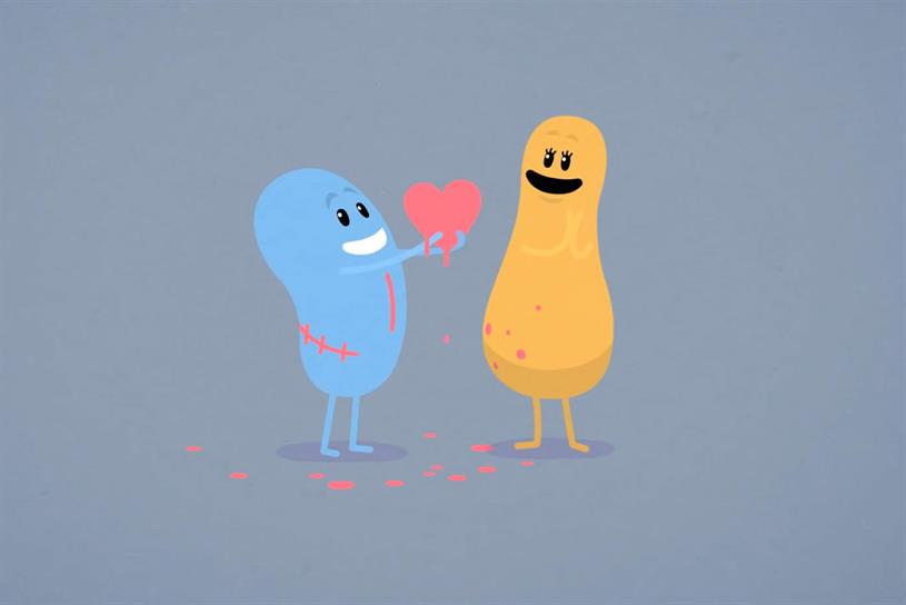 Dumb ways to die: Valentine's comeback viral is second most-shared ad
