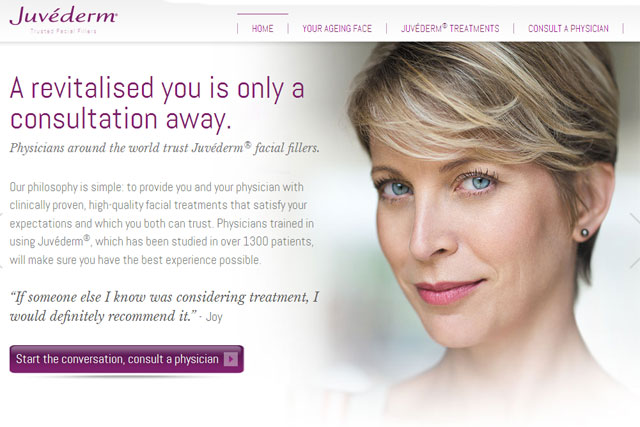 Juvederm: parent group Allergan appoints Rapp to brand's media and digital business