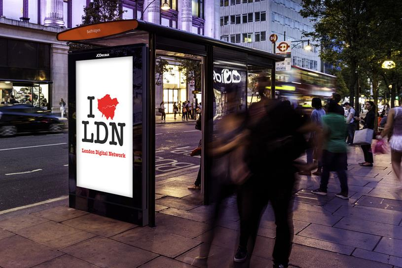 JCDecaux: will build 84-inch digital screens when it takes over TfL's bus shelter ad space