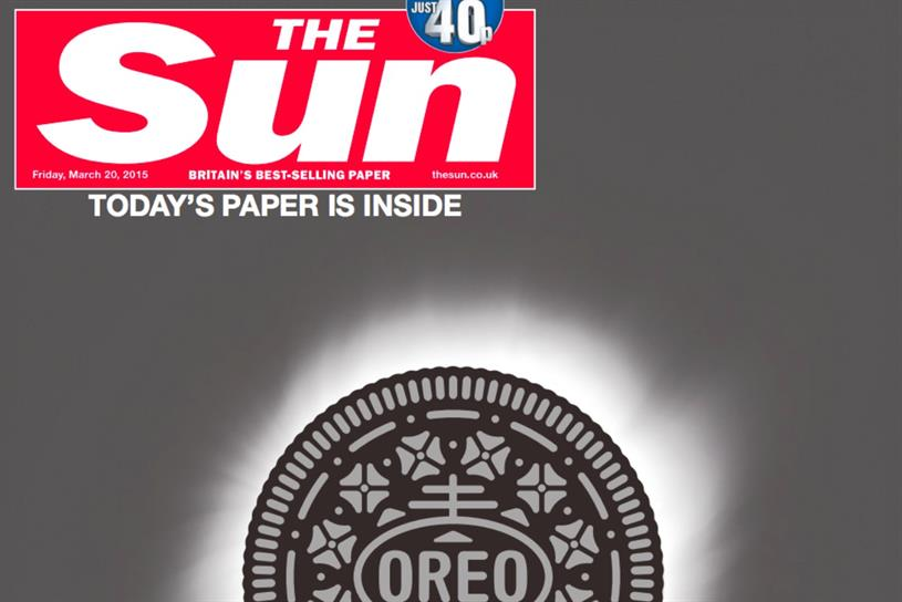 Oreo: runs eclipse campaign