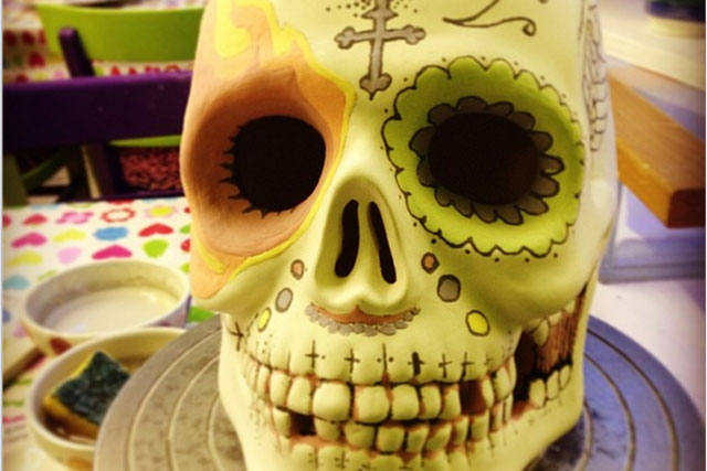 Skeleton staff: one agency was obviously down to the bare bones over the festive holidays