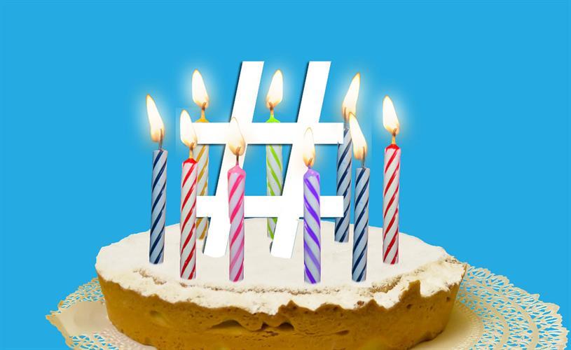 Twitter celebrates 10 years of hashtags