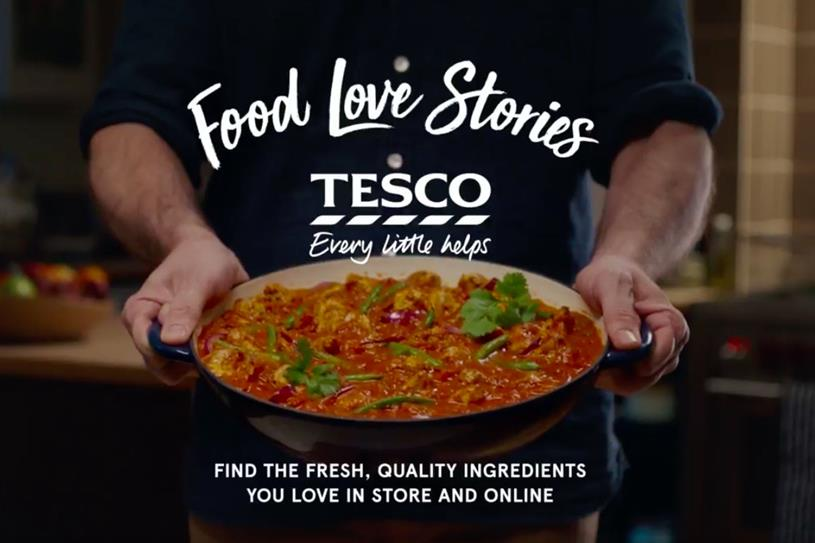 Tesco reports strongest quarterly sales in seven years