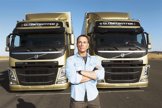 "Volvo Trucks won a Black Pencil for ""the epic split"""
