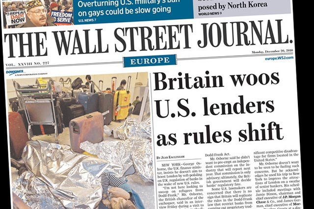 WSJ Europe: appoints Tracy Corrigan editor-in-chief