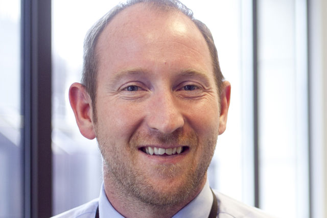 Damian Douglas: appointed digital commercial director at Bloomberg