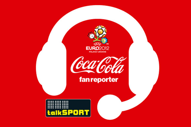 TalkSport: partners with Coca-Cola for the Euro 2012 Football Championship