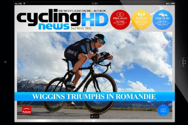 Cycling News HD: latest title from Future