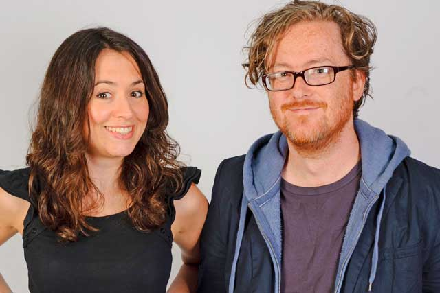 Geoff Lloyd: Absolute Radio presenter and his co-host Annabel Port