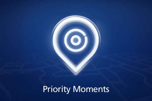 O2: pushed Priority Moments with Twitter campaign