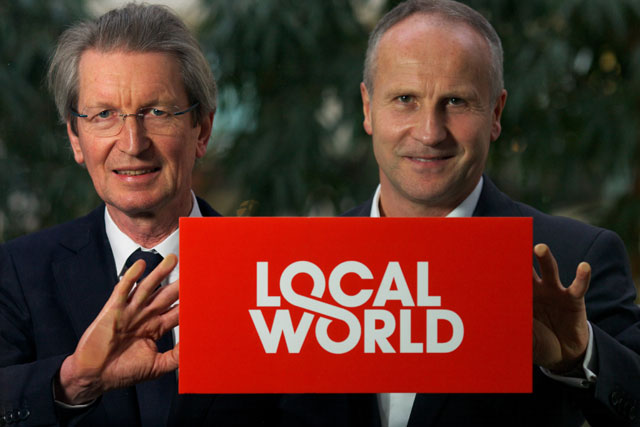 Partnership: David Montgomery and Steve Auckland of Local World
