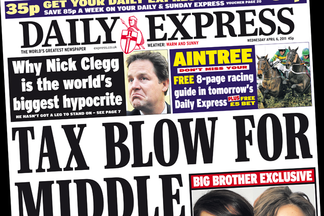 Daily Express: for sale