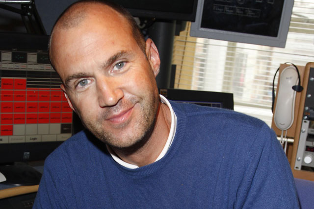 Johnny Vaughan: steps down at number one