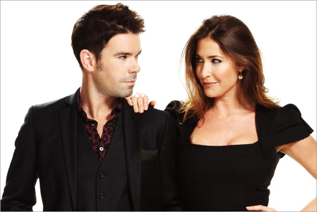 Breakfast show duo: Dave Berry and Lisa Snowdon of 95.8 Capital FM London