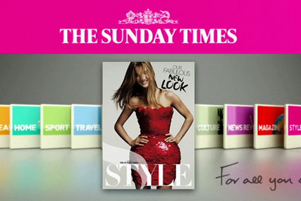 The Sunday Times: back on sale in Asda
