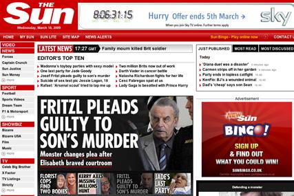 Sun Online: launching TV quiz show
