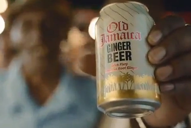 Old Jamaica Ginger Beer: sponsors Comedy Central