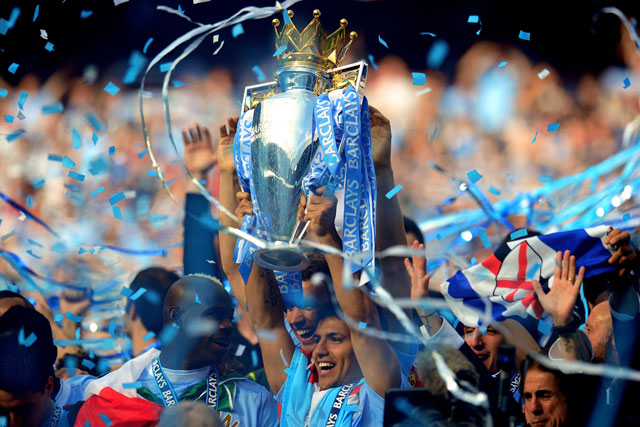 Manchester City: last season's Premier League champions