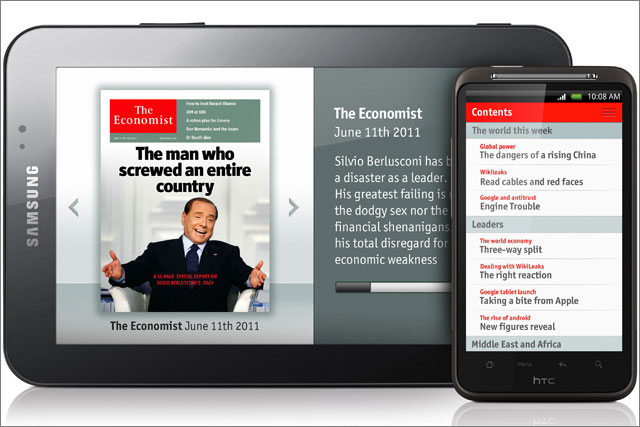 The Economist: releases Android app