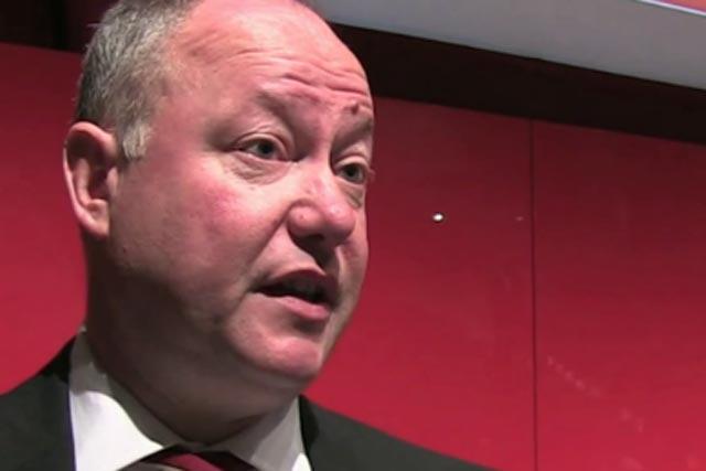 Simon Redican: managing director of the RAB