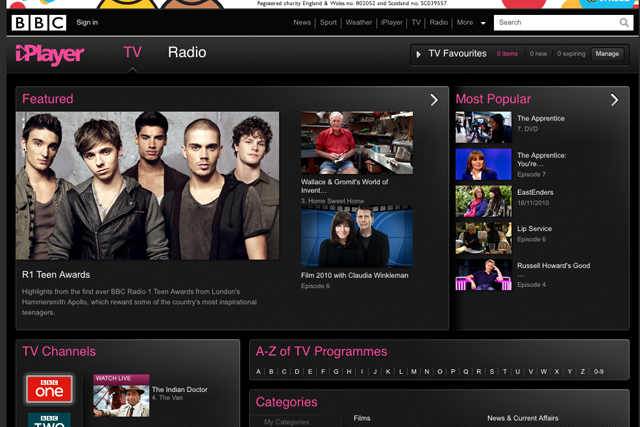 The BBC iPlayer: a major part of the online TV viewing landscape
