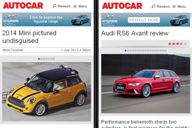 Autocar: Hyundai backs the mobile edition