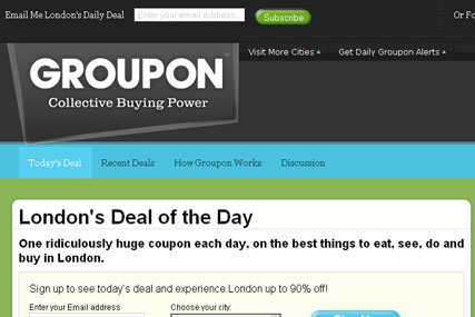 Groupon:reportedly  rejected Google approach