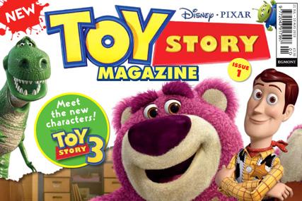 Toy Story magazine: published by Egmont