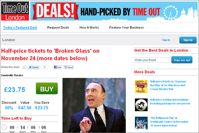 Time Out: extends daily deals service with acquisition of Keynoir
