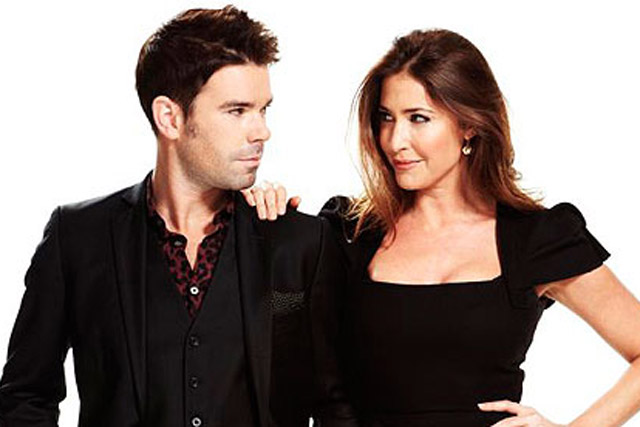 Dave Berry and Lisa Snowdon: still number one in London