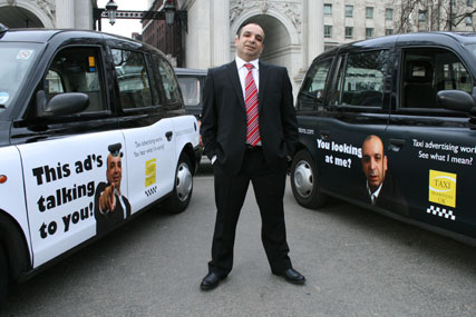 Asher Moses, chief executive of Taxi Media