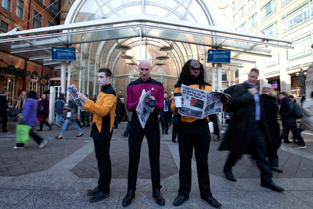Syfy: to boldly go on the morning commute