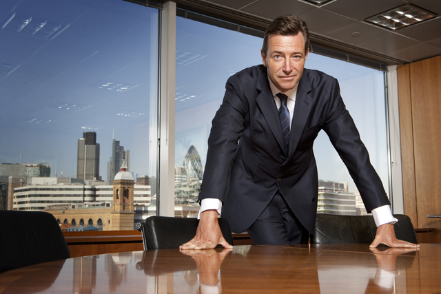 John Ridding: chief executive of the Financial Times