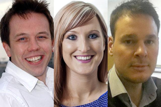 Simon Blackburn, Stacey Pratt and Anthony Mann