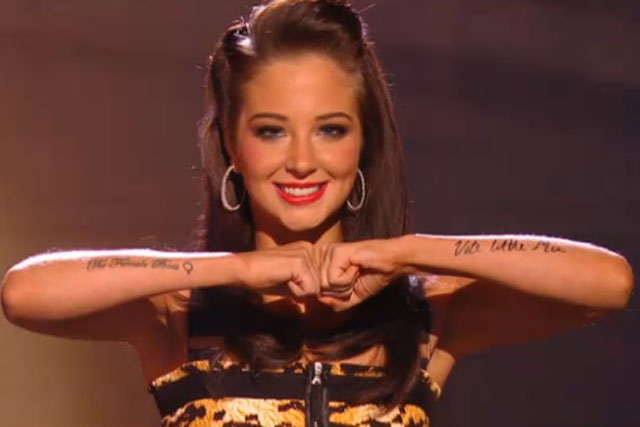 Tulisa Contostavlos: The X Factor judge on Saturday's show