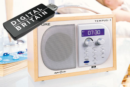 DIGITAL BRITAIN: Government sets 2015 as digital radio switchover date