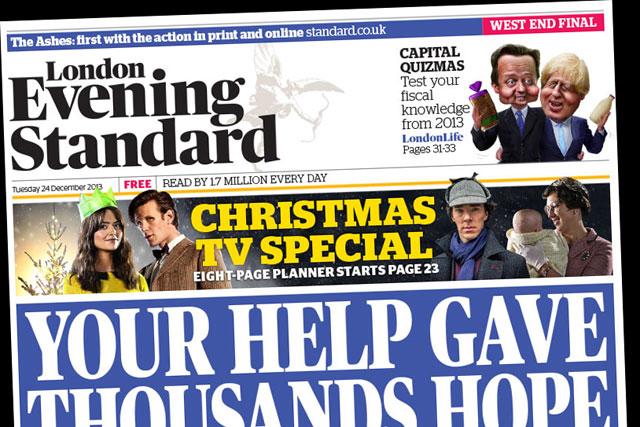 London Evening Standard: kicks off circulation push