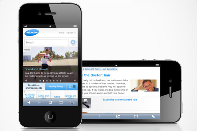 Netdoctor: launches mobile site offering expert medical advice