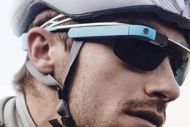 Google Glass: Nigel Clarkson is impressed by the voice-recognition and functionality