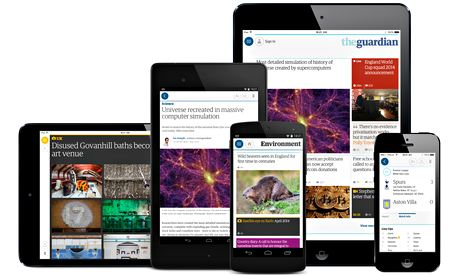 Guardian hails 'landmark moment' with personalised, region-specific app